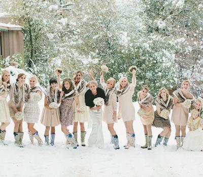 Sposarsi di inverno