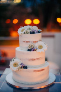 wedding cake view - the different twins